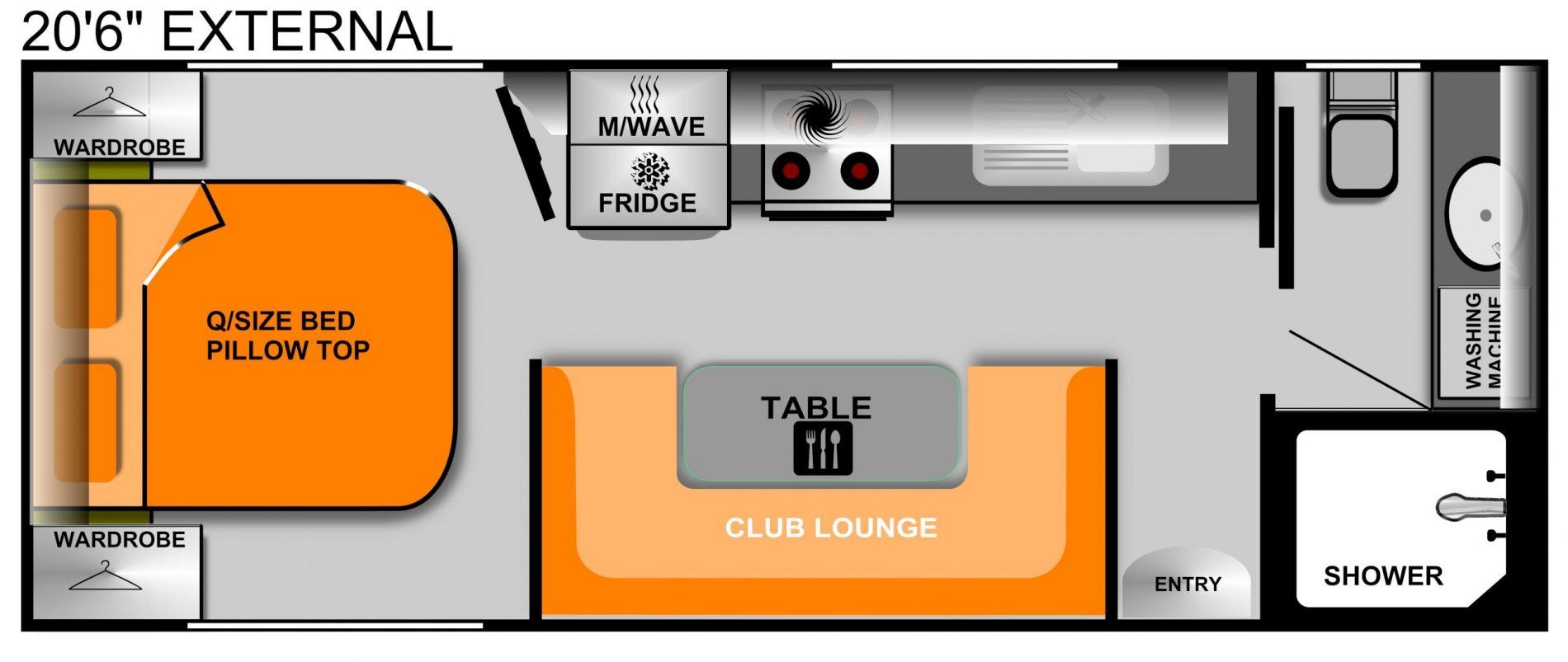 20f6i Rear door Club lounge