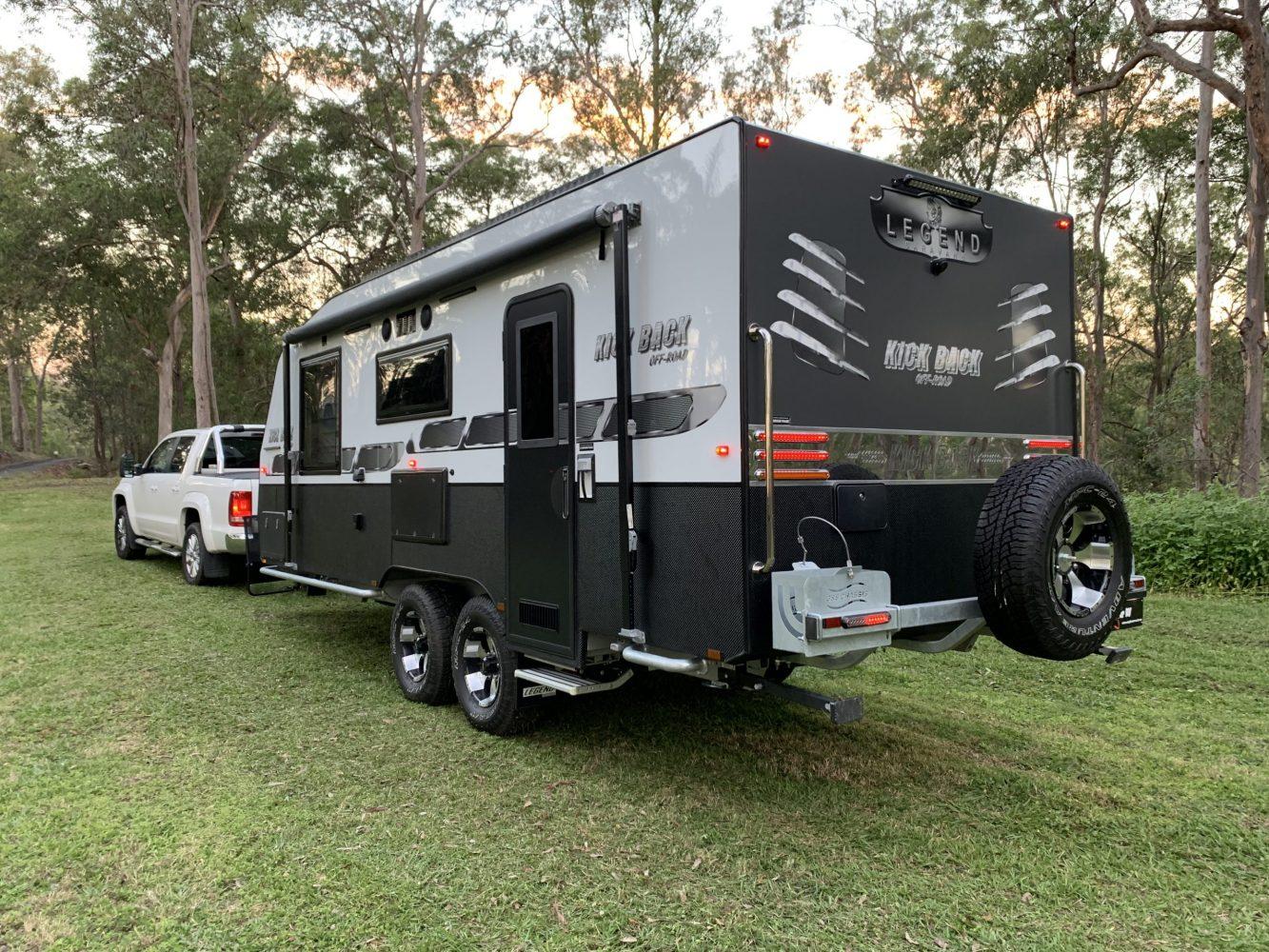 Legend Kickback Offroad Family Bunk Van