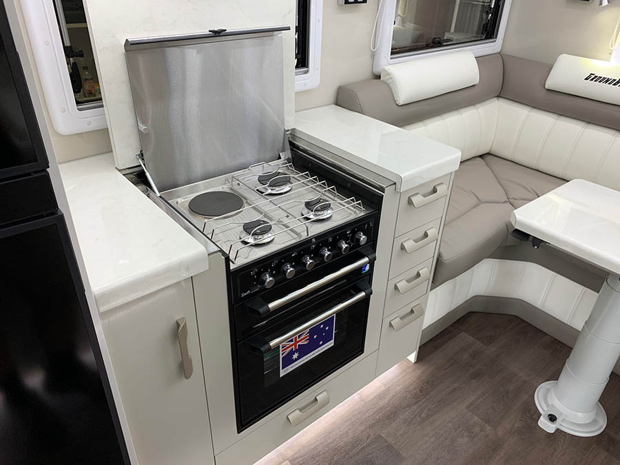 Legend Groundbreaker Offroad Kitchen by Explorer RV