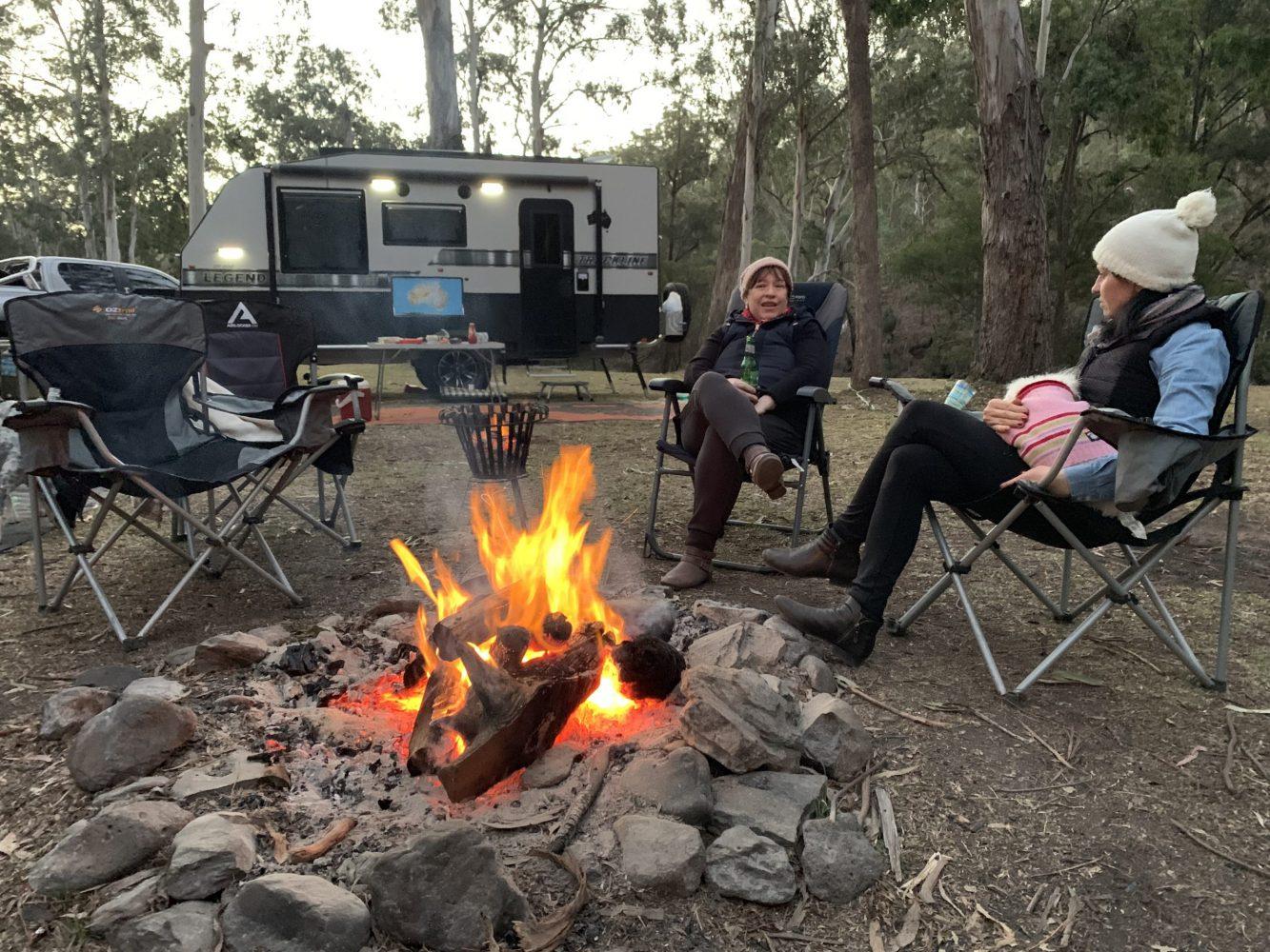 Exporer RV camping