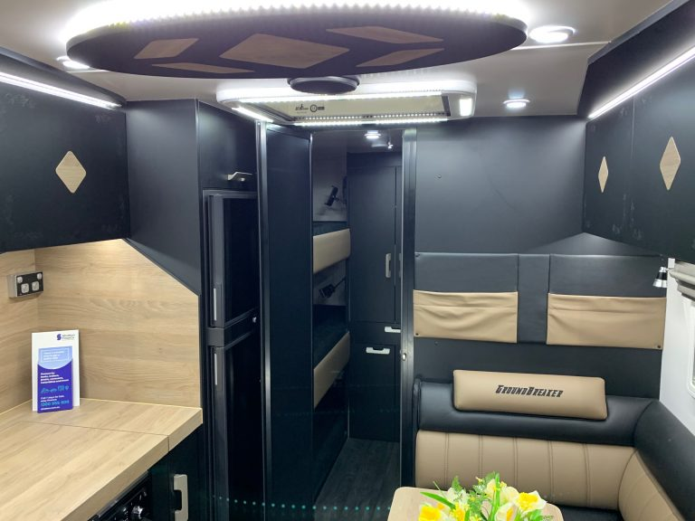 Explorer RV Bunk Legend Trackline Caravan